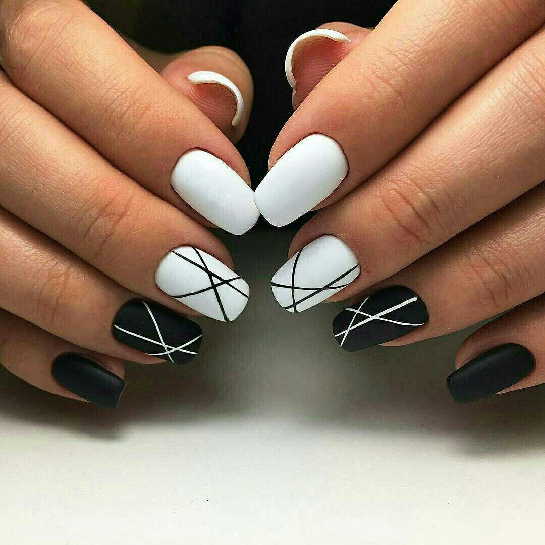 abstrakciya Самый красивый дизайн ногтей: 100 ЛУЧШИХ идей и трендов на фото